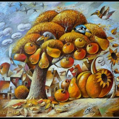 Щедрая осень / Großzügiger Herbst, 60х73