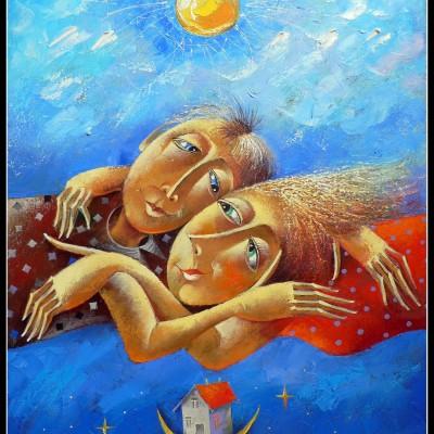 Неземная любовь / Himmlische Liebe, 73х60