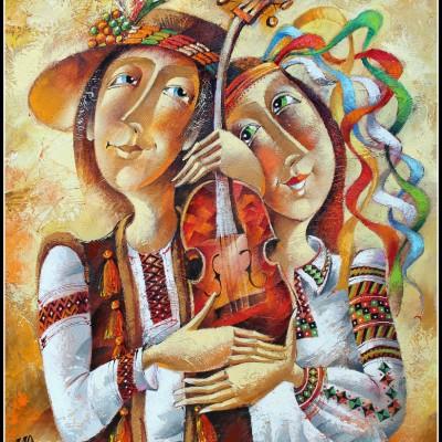 Волшебная скрипка / Die Zaubergeige, 61х50